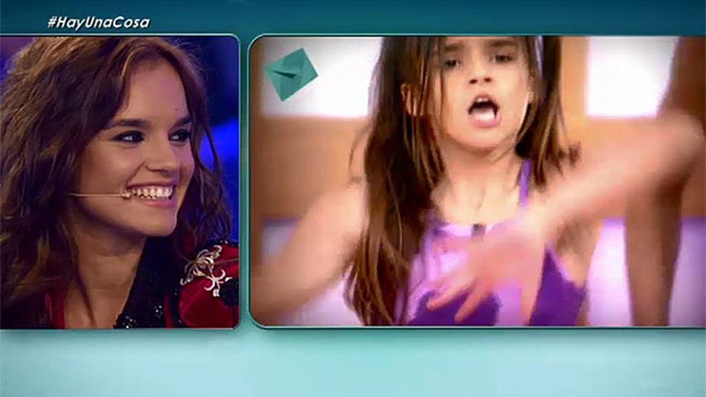 'Hay una cosa que te quiero decir' recuerda una de las primeras actuaciones de Melody en Telecinco