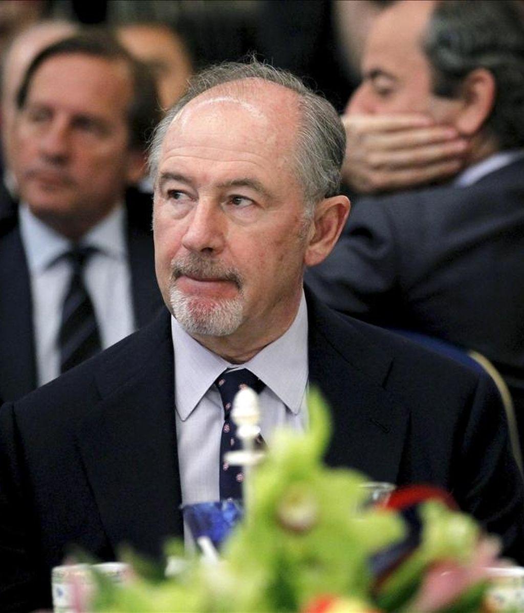 El presidente de Bankia, Rodrigo Rato. EFE/Archivo