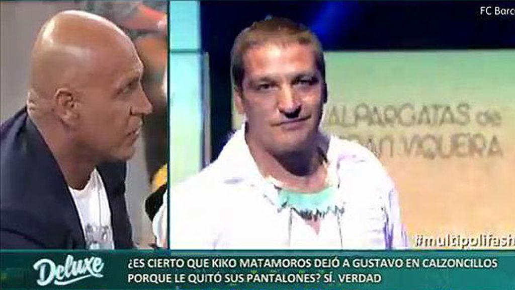 """Lidia: """"Kiko M. dejó a Gustavo en calzoncillos porque no quería salir en pantalones cortos"""""""