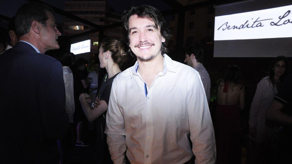 El actor Javier Veiga