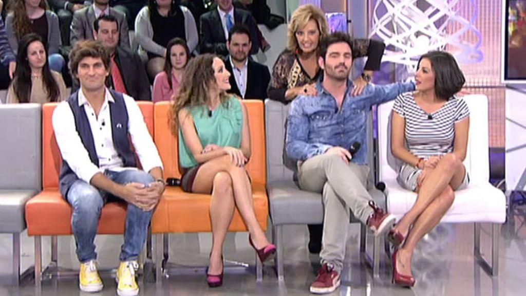 """Mª Teresa, a 'Los Supersingles': """"Sois una seña de identidad de este programa"""""""