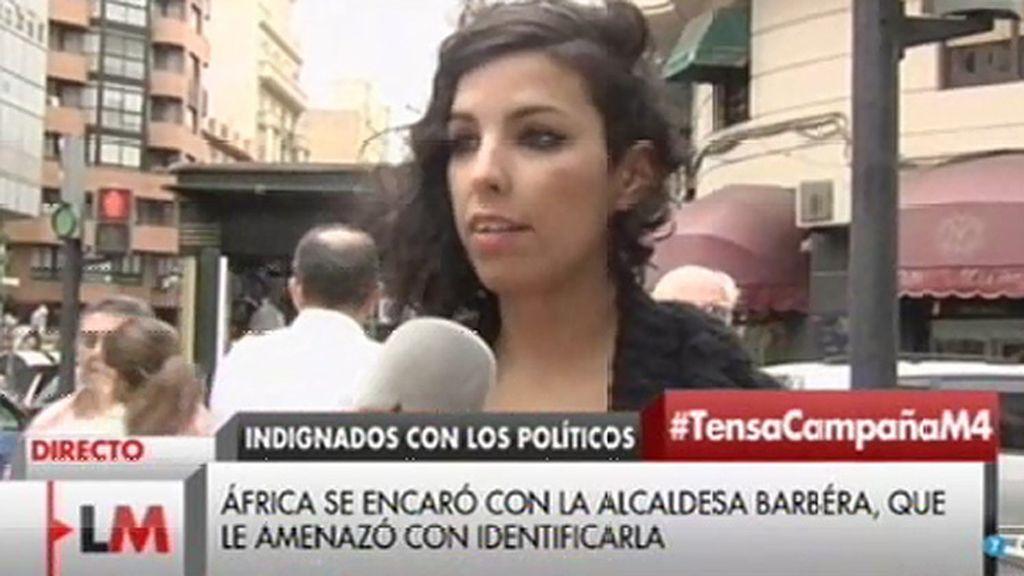 """África: """"Rita Barberá me dijo que me iba a denunciar"""""""