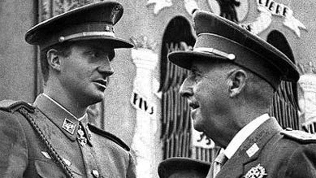 Don Juan Carlos recuerda con cariño su relación con Franco 20 años después de su muerte