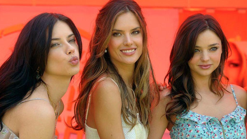 Las más sexys, según los Ángeles de Victoria's Secret