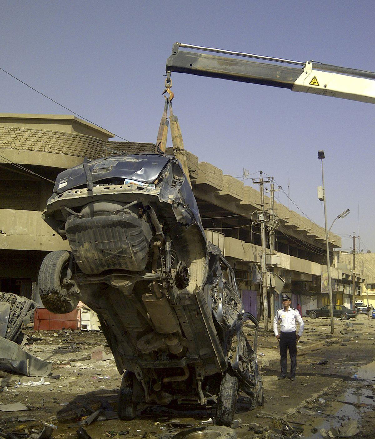 Una serie de atentados deja medio centenar de muertos en Irak