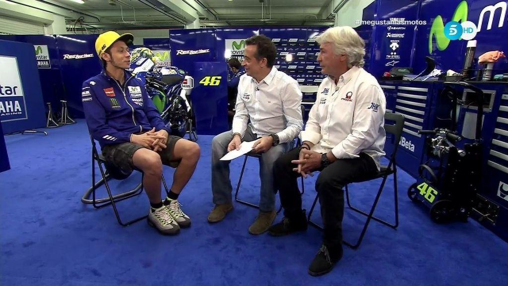 ¿Es Valentino Rossi el mejor piloto de la historia? El italiano responde claro