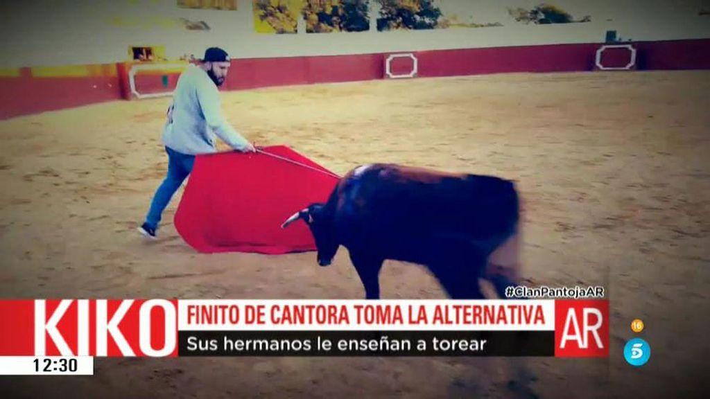 Kiko Rivera debuta como torero