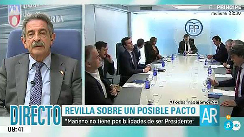 """La quiniela de Revilla: """"Nuevas elecciones y Mariano Rajoy fuera del Partido Popular"""""""