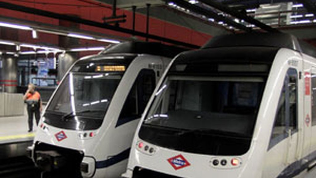 Huelga del metro de Madrid en la visita del Papa. Foto: GTRES