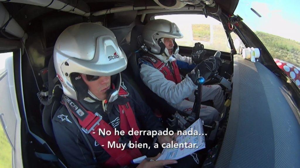 Albert Rivera y Jesús Calleja completan con éxito la clasificación para el Rally