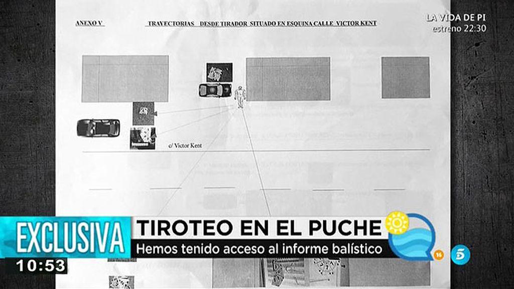 El informe balístico del tiroteo de El Puche, en exclusiva en 'El programa del verano'