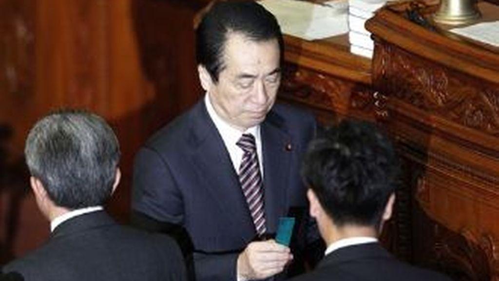 El primer ministro japonés, Naoto Kan pretendía dejar su cargo tras concluir los trabajos de reconstrucción y la crisis nuclear en la central de Fukushima-1.