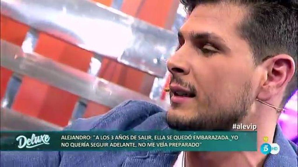 """Alejandro, sobre el nacimiento de su hijo: """"Yo no quería tenerlo, no estaba preparado"""""""