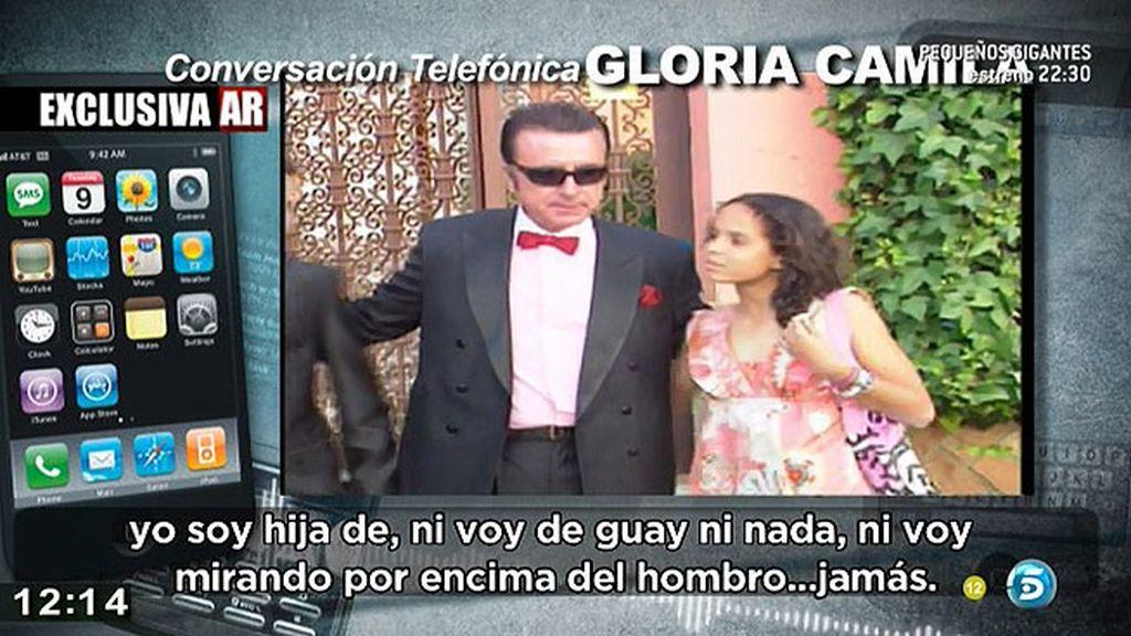 """Gloria Camila: """"Yo no voy de guay ni mirando por encima del hombro"""""""