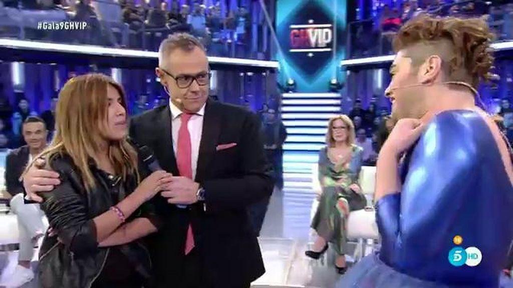 """Isa Pantoja recibe a Sema tras la expulsión: """"Yo te quiero así y para mí eres el ganador"""""""