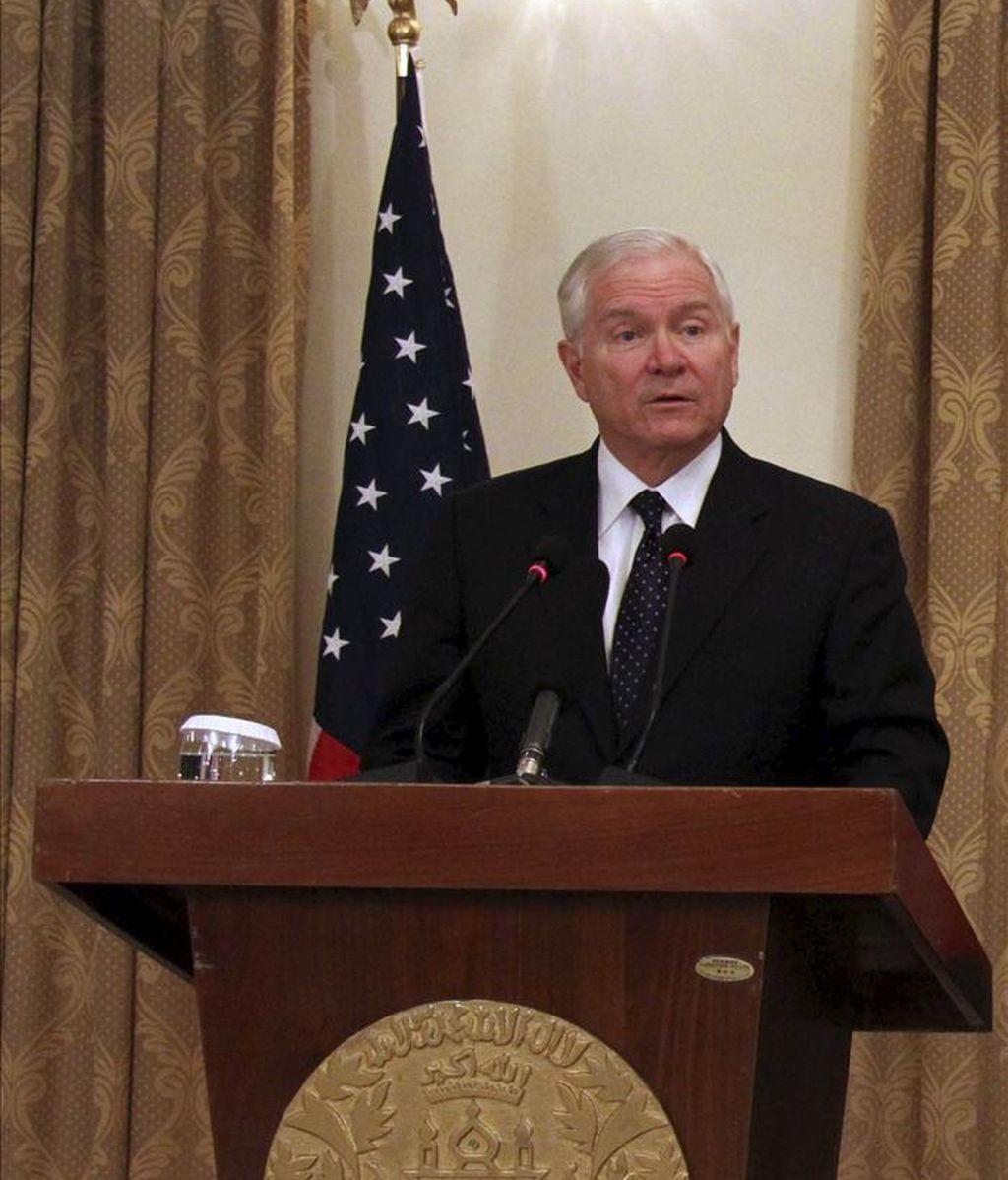 """El secretario de Defensa de EE.UU., Robert Gates, autorizó el jueves el envío de aviones """"Predator"""" a Libia. EFE/Archivo"""