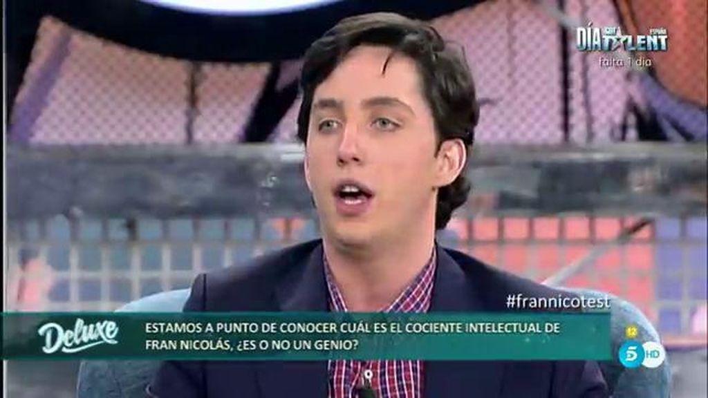"""Fran: """"Si no rectifica, Jiménez Losantos va a ser el primero al que voy a demandar"""""""