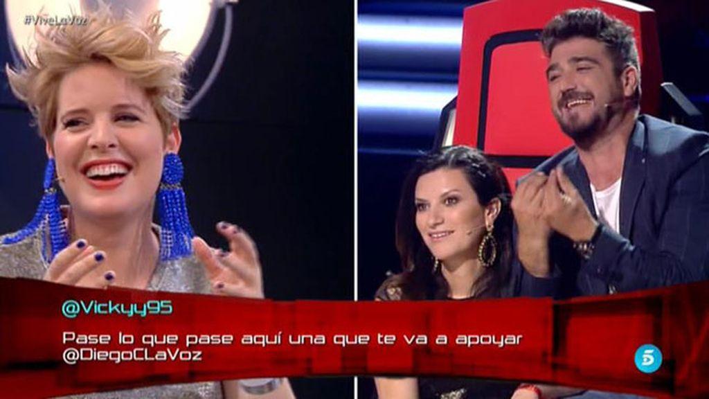 "Laura Pausini, a Tania Llasera: ""Si vas a Italia no digas con la patata en la mano"""