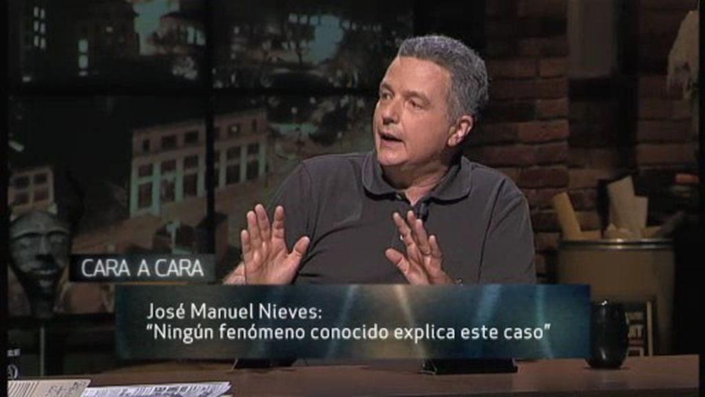 """José Manuel Nieves: """"Queda abierta la posibilidad a una señal extraterrestre"""""""
