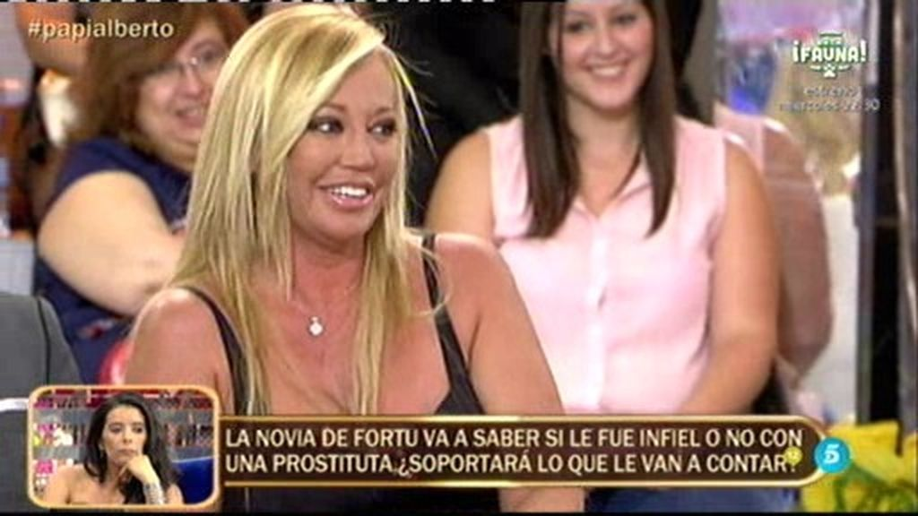 "La pillada de Belén Esteban a Alberto Isla: ""Te he visto varias veces mirándomelas"""