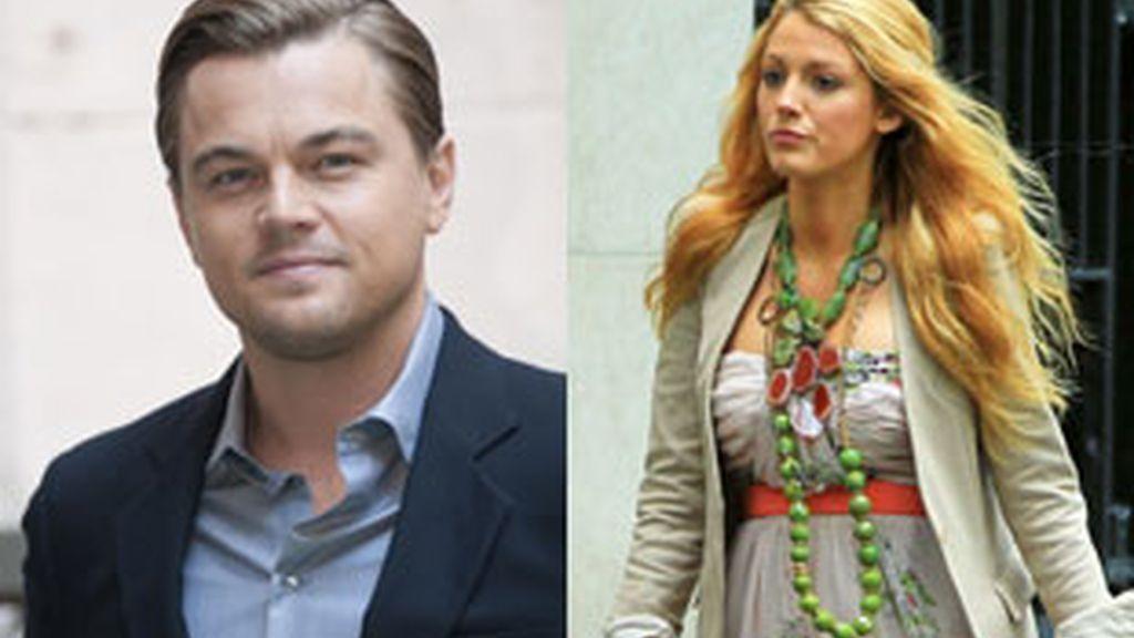 Leonardo Di Caprio y Blake Lively