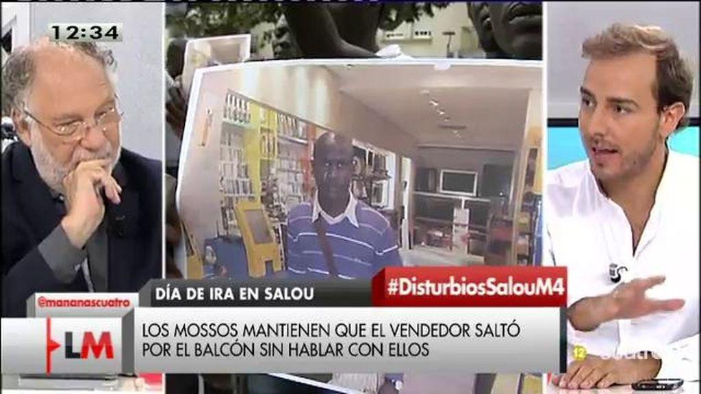 """Javier Dorado: """"Poner en tela de juicio sistemáticamente la manera de actuar de los Mossos no es positivo """""""