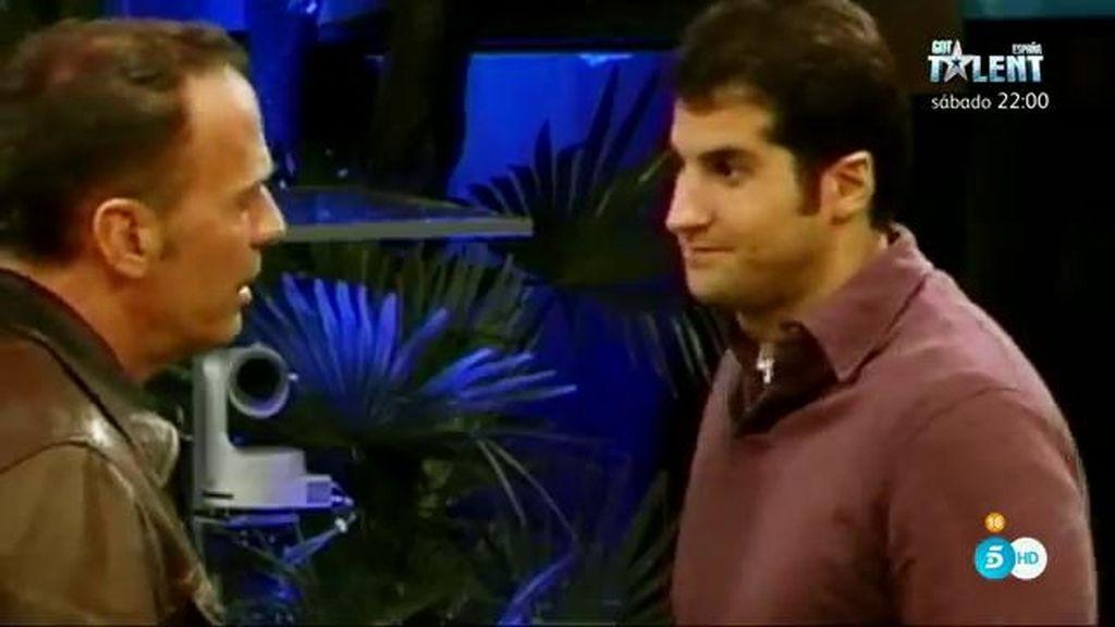 """Carlos: """"Ahora salgo una vez cada mes y medio y puedo estar dos días seguidos"""""""