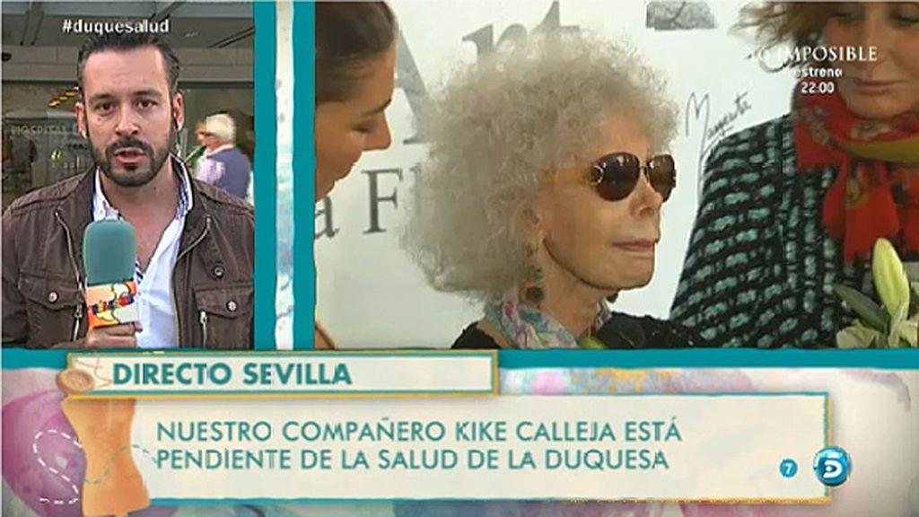 La Duquesa de Alba podría ser trasladada al Palacio de Dueñas, según Kike Calleja