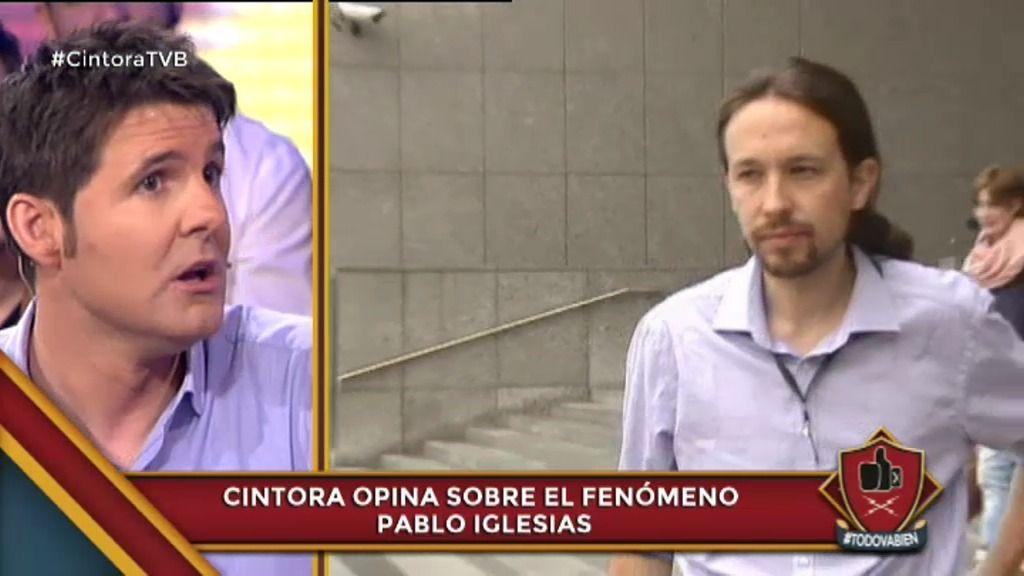 """Cintora: """"Ahora es imposible tomarte una caña con Pablo Iglesias"""""""
