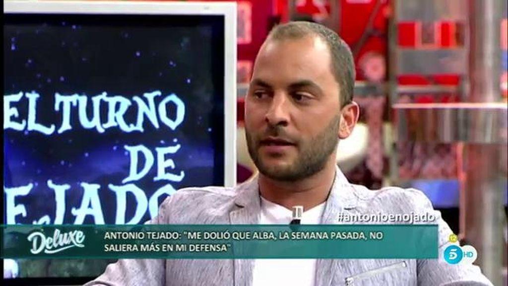 """Antonio Tejado: """"Estar en medio entre tu mujer y tu madre es muy complicado"""""""