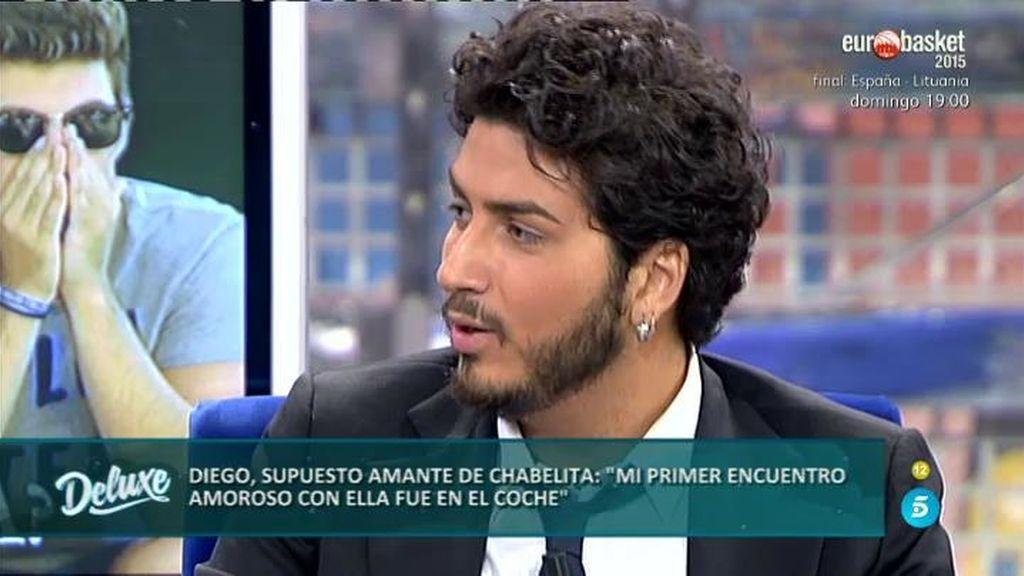 """Diego, el amante de Chabelita: """"Nuestro encuentro sexual fue en un coche"""""""
