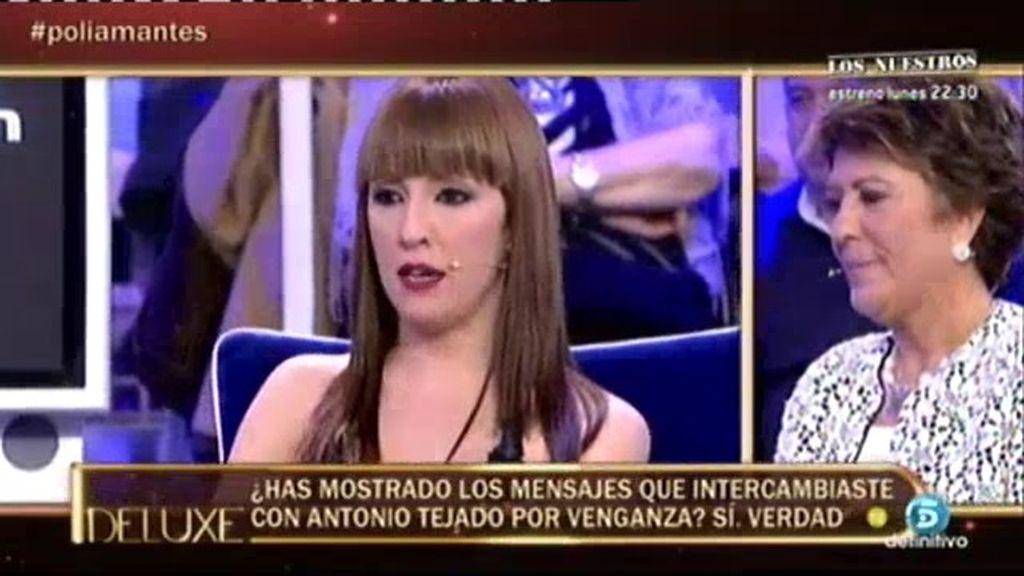 """Marta: """"Mostré los mensajes que tenía con Antonio Tejado por venganza"""""""