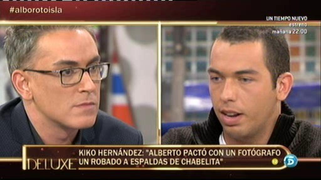 """Kiko H.: """"Alberto Isla pactó un robado a espaldas de Chabelita en Asturias"""""""