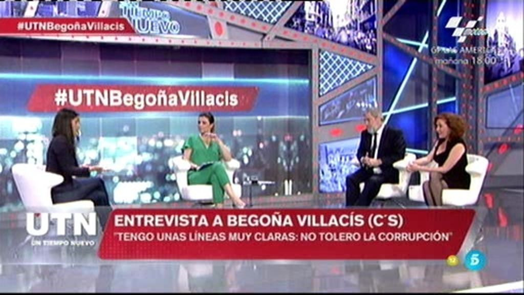 "Begoña Villacís: ""No pactaré conAguirre si sus listas están manchadas de corrupción"""