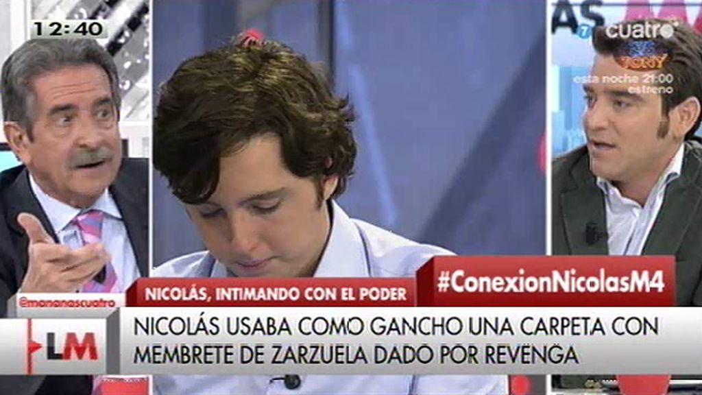 """Revilla, sobre el 'pequeño Nicolás': """"Si es un botarate, el CNI no se querella contra él"""""""