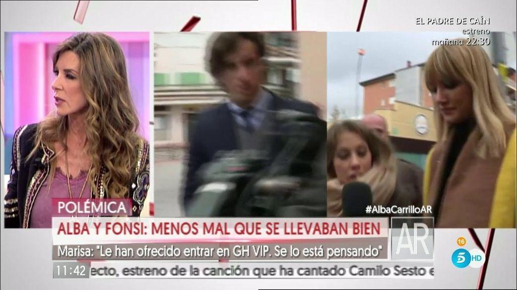 """Marisa: """"A Alba Carrillo le han ofrecido participar en 'Gran Hermano VIP"""""""
