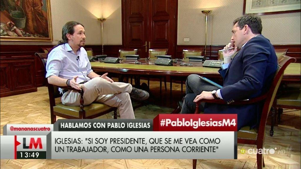 """Iglesias: """"El PSOE ha impedido a Sánchez ser presidente y nosotros estábamos dispuestos a facilitarlo"""""""