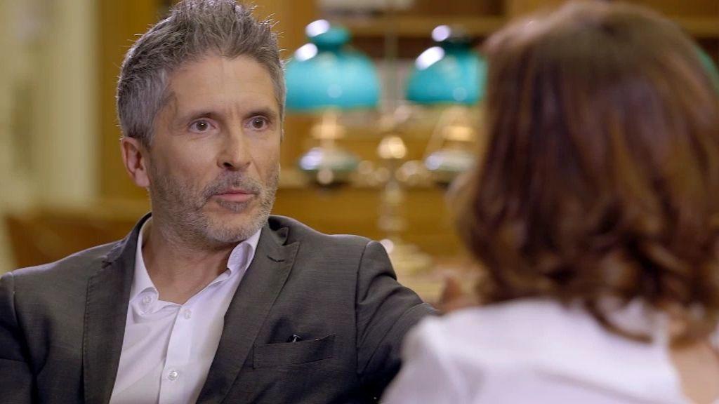 "Fernando Grande-Marlaska, sobre ETA: ""No me fui del País Vasco por miedo"""
