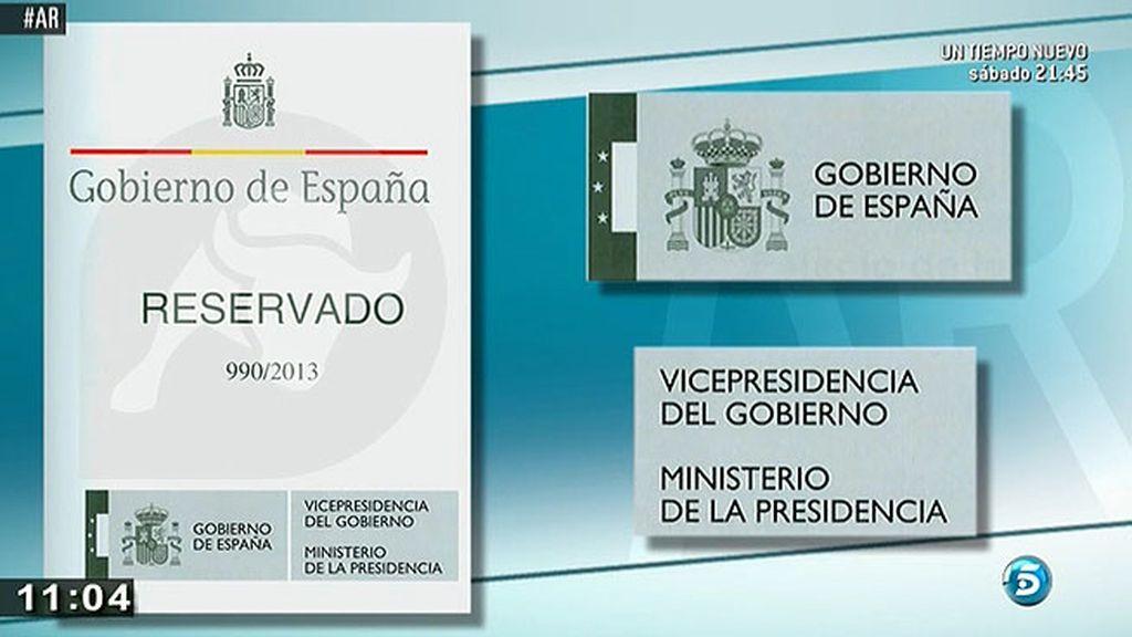 Así era el informe falso del Gobierno que supuestamente presentaba el 'Pequeño Nicolás'