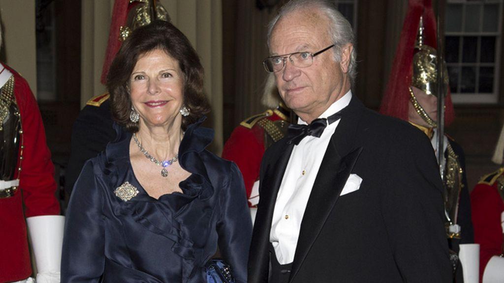 Silvia y Gustavo de Suecia