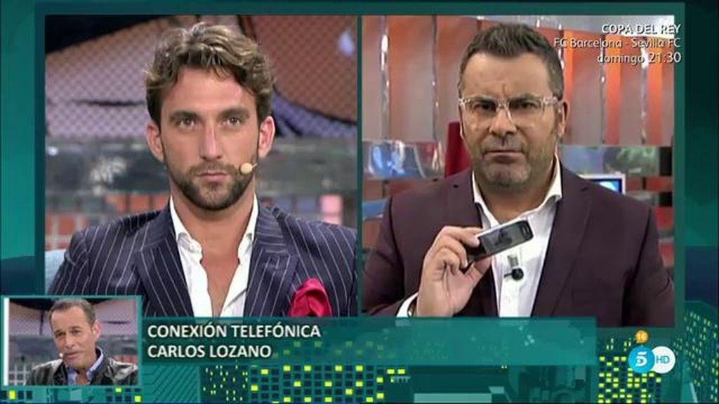 """Carlos Lozano, amenaza a Antonio Pavón: """"Cuando Miriam salga, ¡prepárate!"""""""