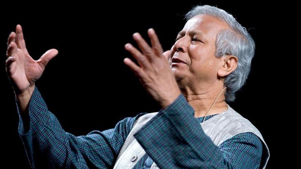 En la imagen, el exdirector ejecutivo del banco concesionario de microcréditos Grameen Bank (GB), Mohamed Yunus. EFE/Archivo