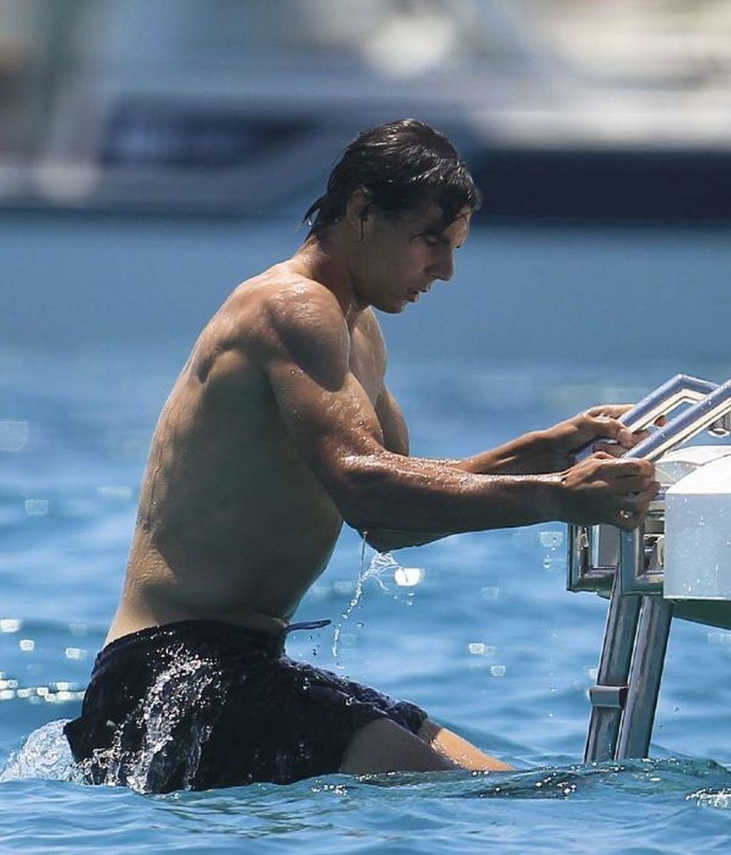 Rafa Nadal se relaja en Ibiza