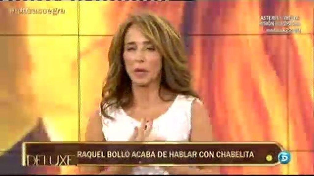 María Patiño interpela a Alberto Isla ante el desprecio que ha hecho a Chabelita