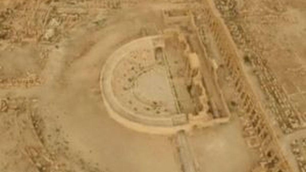 El ejército sirio arrebata al Estado Islámico el control de la ciudad de Palmira