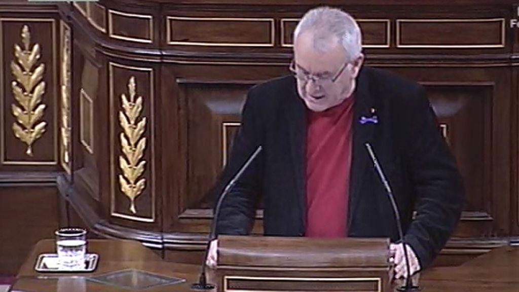 """Cayo Lara, a Rajoy: """"Lo que le toca es dimitir"""""""