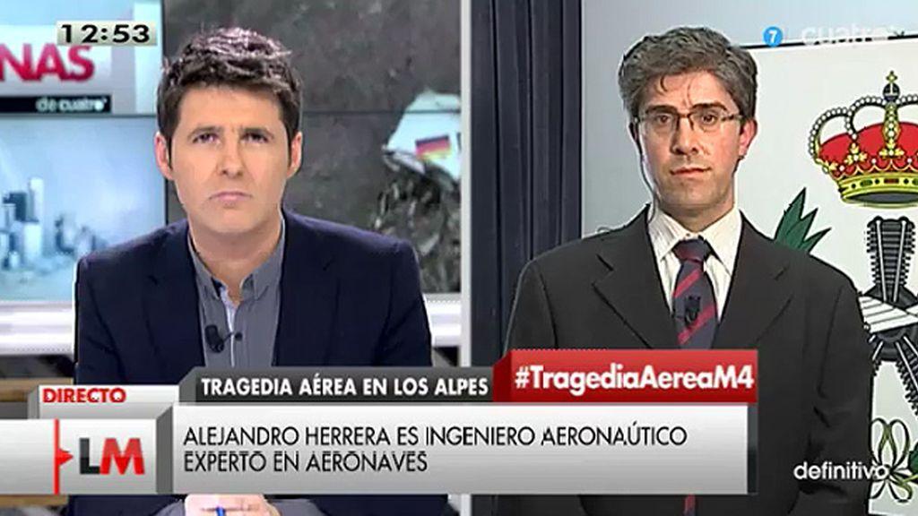 """A. Herrera: """"El tiempo que acumule el avión no tiene por qué ser significativo"""""""
