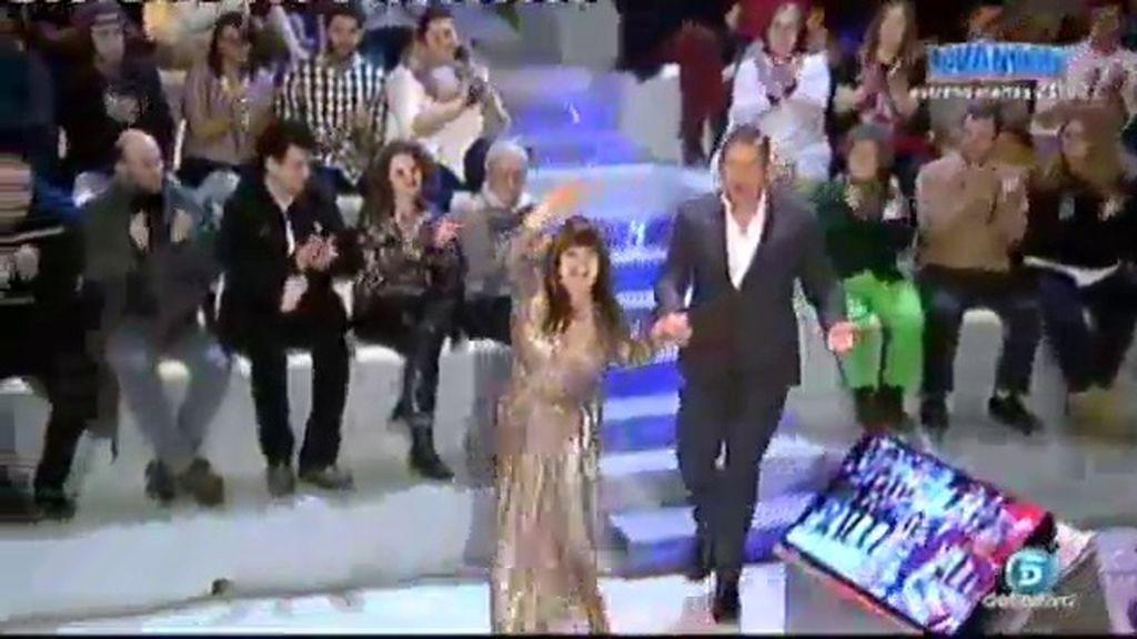Loles León, recién llegada de los Goya, desvela los secretos de la gala en 'UTN'