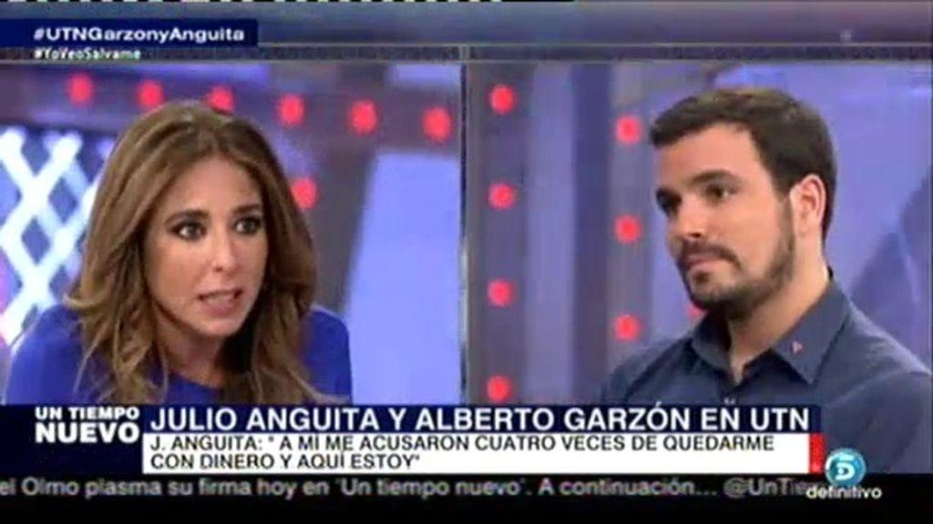 """A. Garzón: """"Para mi quien roba no es un compañero, no puede ser de izquierdas"""""""