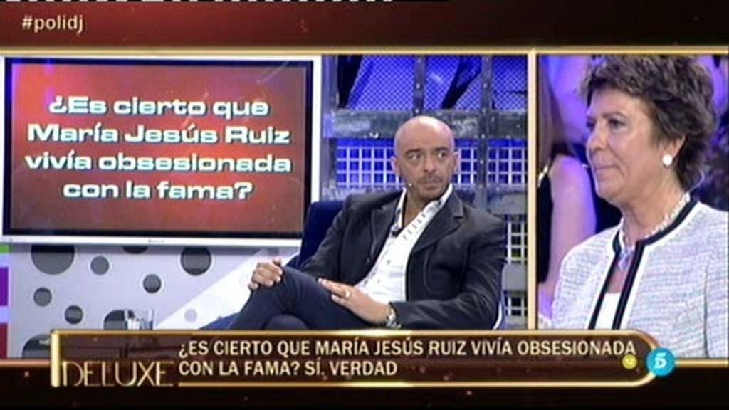 """Dani DJ, sobre María Jesús Ruíz: """"Vivía obsesionada con la fama"""""""